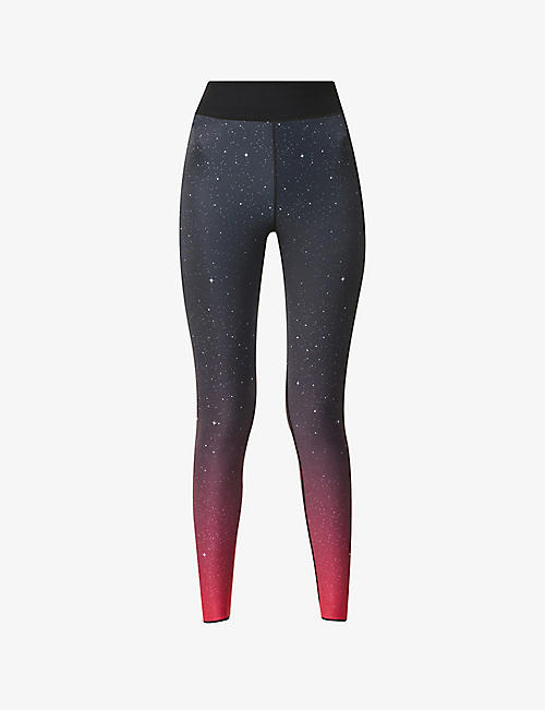 ULTRACOR: Galaxia high-rise stretch-jersey leggings