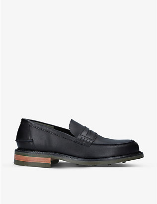 BARKER: Mears leather loafers