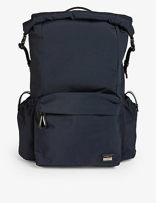 TED BAKER: Vinnie foldable canvas backpack