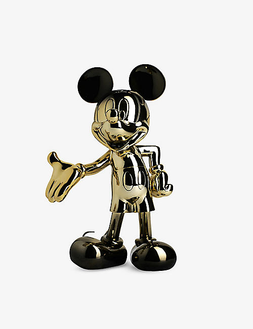 LEBLON DELIENNE: Mickey Mouse Welcome chrome two-tone figurine 30cm