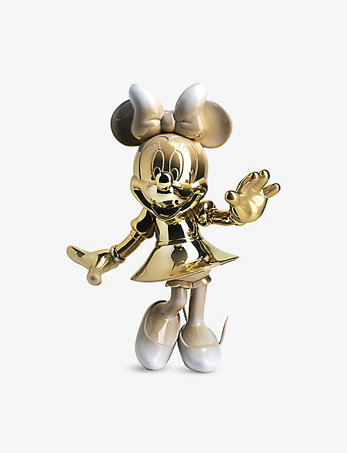 LEBLON DELIENNE: Minnie Mouse Welcome chrome figurine 30cm