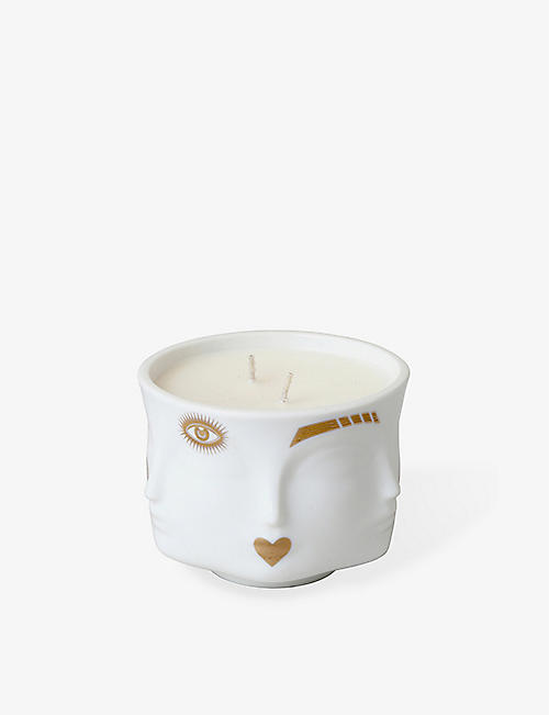 JONATHAN ADLER: Gilded Muse porcelain scented candle 400g