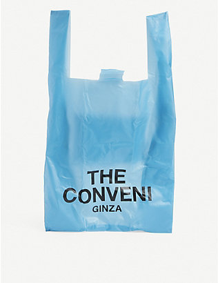 THE CONVENI: Logo-print nylon shopper bag
