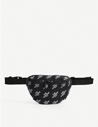 THE CONVENI: Fragment logo-print cotton belt bag