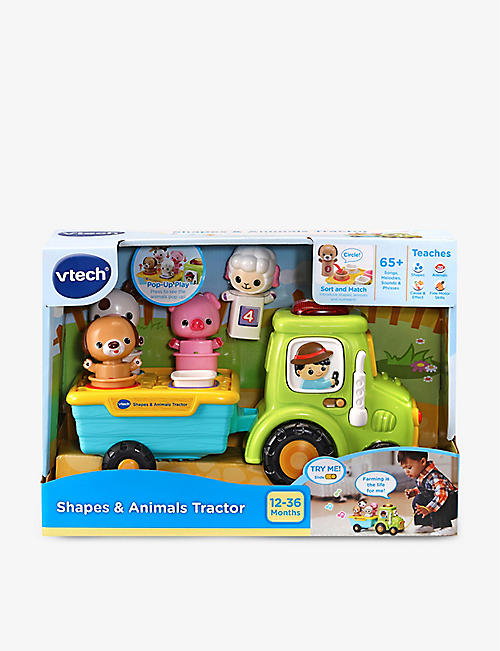 VTECH: Shapes and Animal Tractor set