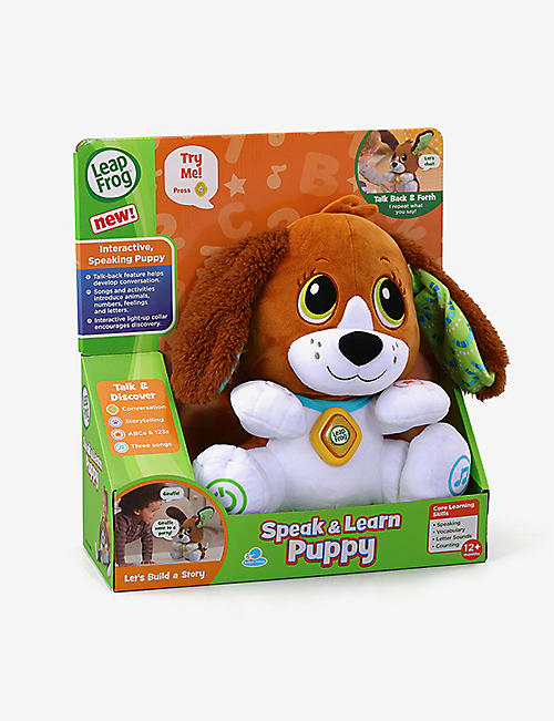 LEAP FROG: Speak & Learn Puppy interactive toy 28cm