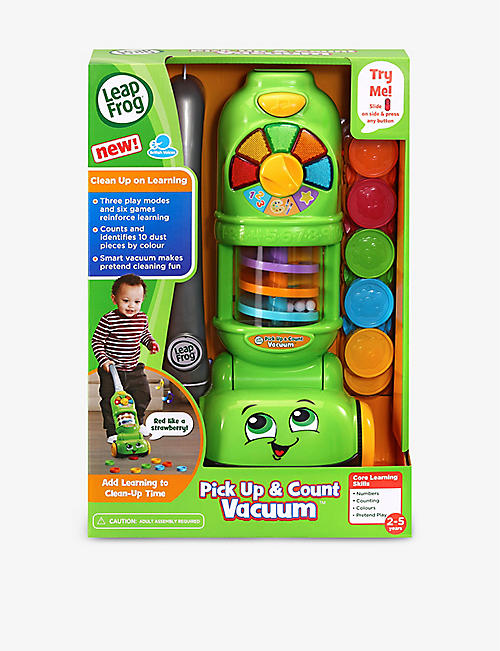 LEAP FROG: Pick Up & Count Vaccuum interactive toy