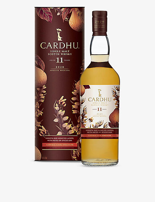 WHISKY AND BOURBON: Cardhu 11-year-old Special Releases 2020 Speyside single malt scotch whisky 700ml