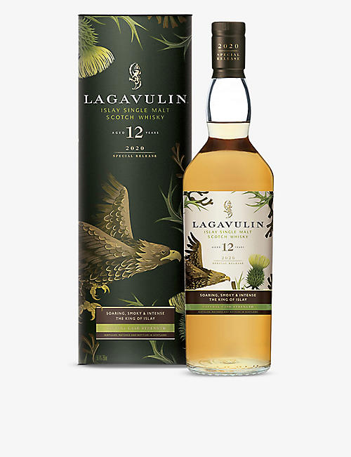 WHISKY AND BOURBON: Lagavulin 12-year-old Special Releases 2020 Islay single malt scotch whisky 700ml