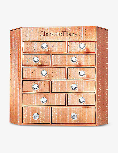 CHARLOTTE TILBURY: Charlotte's Bejewelled Chest of Beauty Treasures beauty advent calendar 2020
