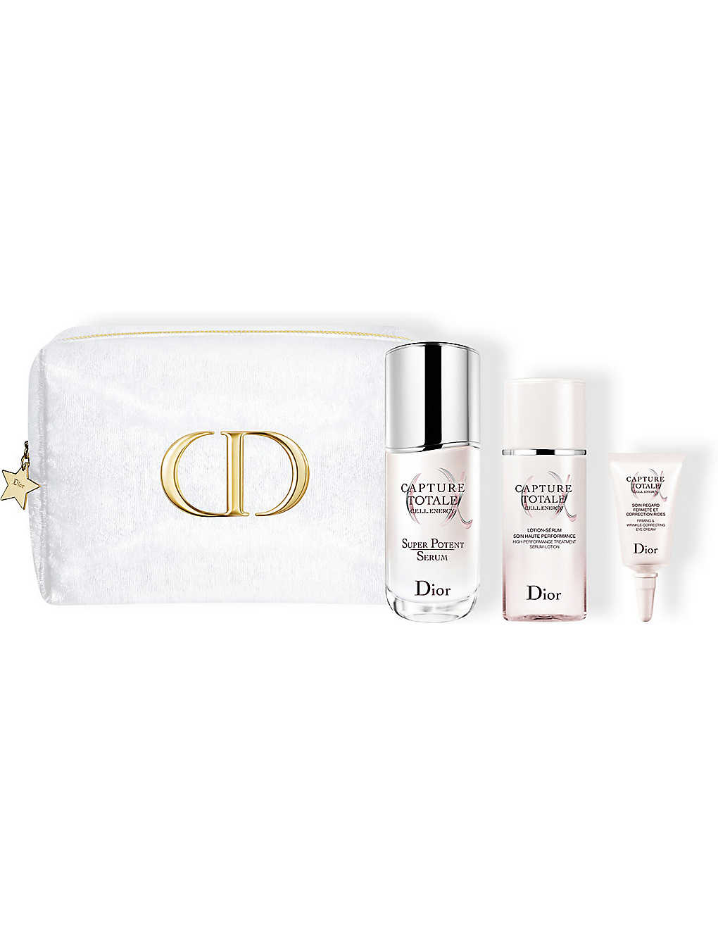 DIOR: Capture Totale Total Age-Defying Skincare Ritual kit