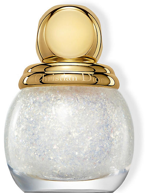 DIOR: Diorific Vernis Golden Nights Top Coat limited-edition nail lacquer 12ml
