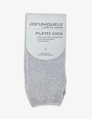 LORNA JANE: Pilates stretch-jersey socks