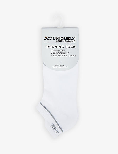 LORNA JANE: Running stretch-jersey socks