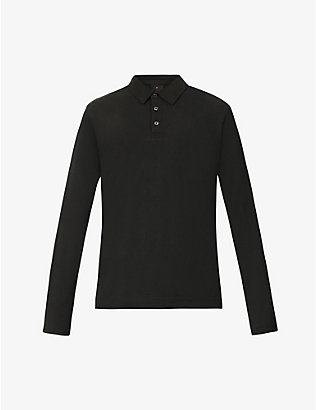 OSCAR JACOBSON: Zine regular-fit cotton polo shirt