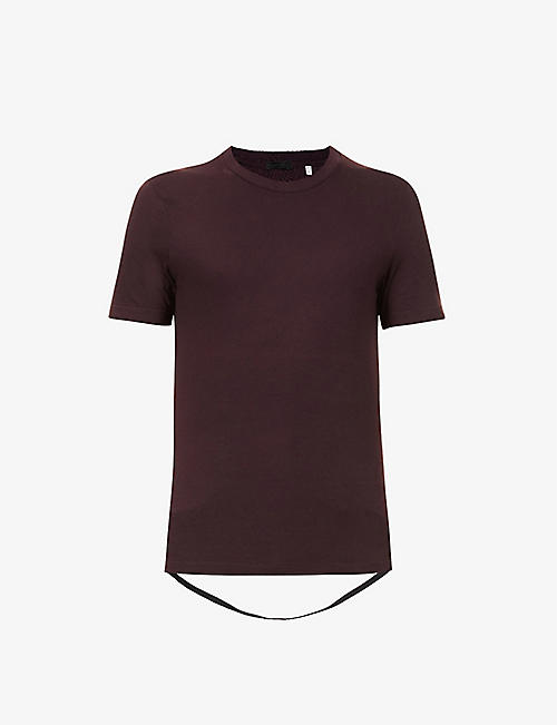 BYRONESQUE: Pre-loved BYRONESQUE x Helmut Lang cotton-jersey T-shirt