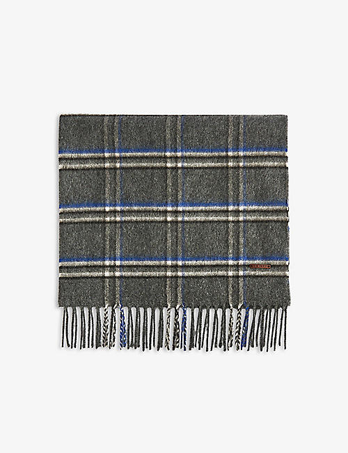 TED BAKER: Wigmore windowpane checked scarf