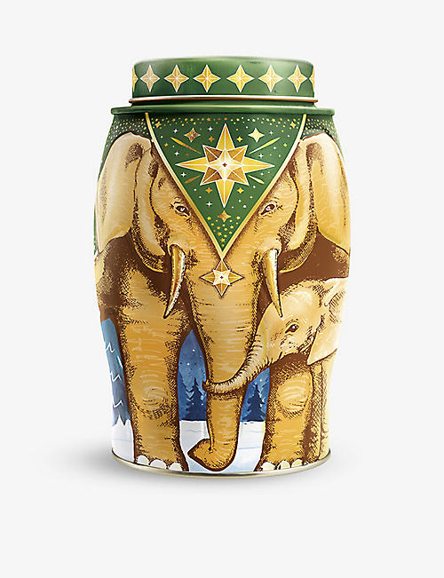 CHRISTMAS: Williamson Tea Earl Grey elephant caddy 100g