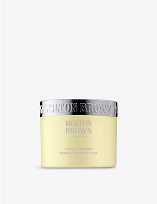 MOLTON BROWN: Orange & Bergamot Radiant body polisher 275g