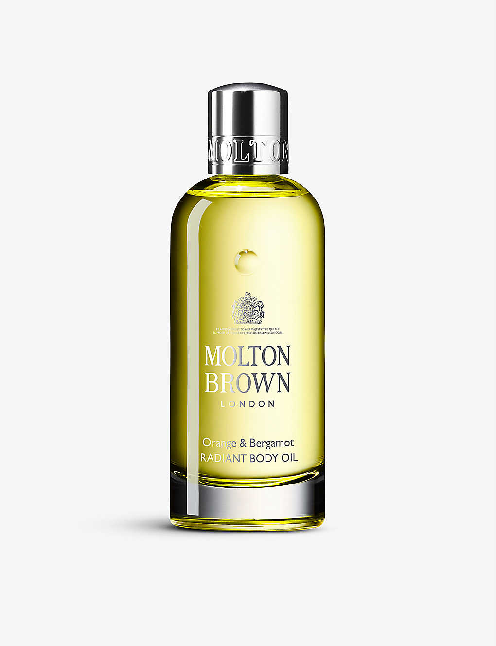 MOLTON BROWN: Orange & Bergamot Radiant body oil 200ml