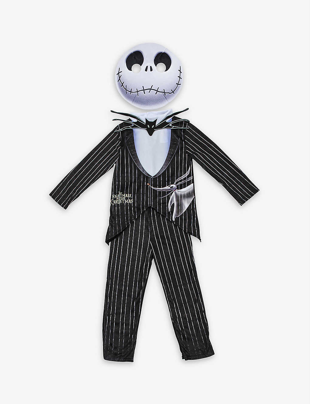 DRESS UP: The Nightmare Before Christmas Jack Skellington dressing-up costume 3-4 years