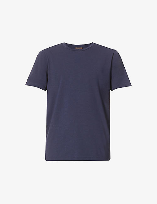 OSCAR JACOBSON: Kyran stretch-cotton T-shirt