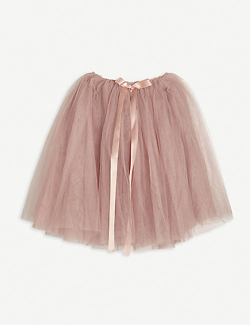 MIMI & LULA: Ribbon-trimmed woven tutu 2-16 years
