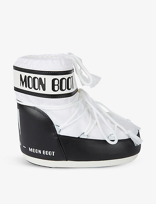 MOON BOOT: Low-top shell snow boots