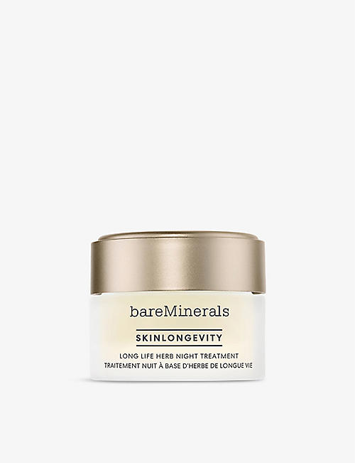 BARE MINERALS: Skinlongevity Long Life Herb night treatment 50g