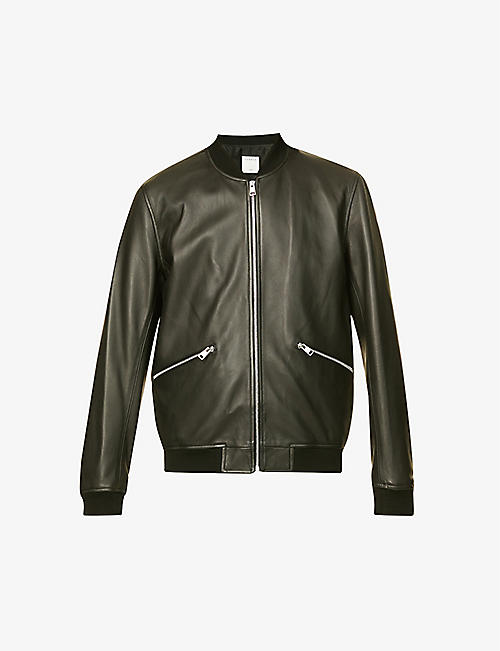 SANDRO: New Monaco leather jacket