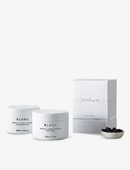 THE WHITE COMPANY: Blanc Perfect Pamper set
