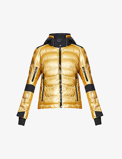 TONI SAILER: Tami metallic padded shell jacket