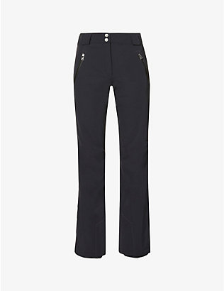 TONI SAILER: Victoria flared high-rise sports-jersey ski trousers