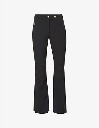TONI SAILER: Sestriere flared high-rise sports-jersey trousers