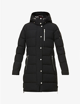 MOOSE KNUCKLES: Trinity quilted cotton-blend down jacket