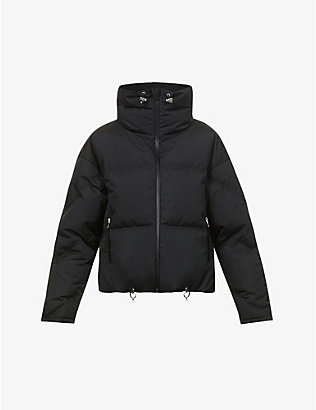 CORDOVA: Mont Blanc funnel-neck shell-down jacket