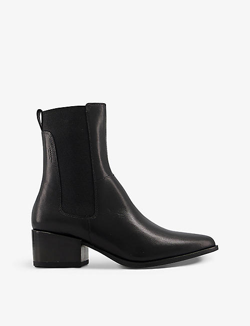 VAGABOND: Marja leather heeled Chelsea boots