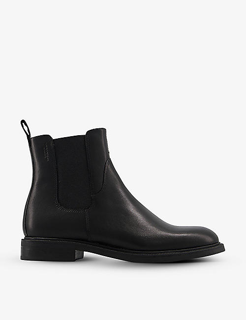 VAGABOND: Amina leather Chelsea boots