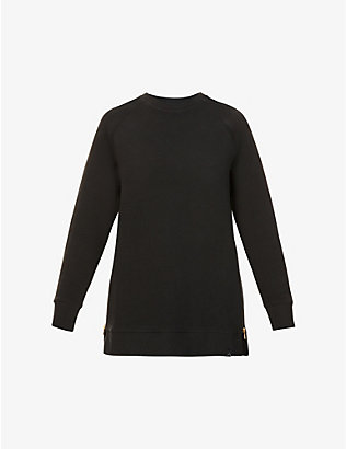 VARLEY: Manning zipped cotton-blend sweatshirt