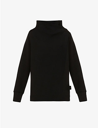 VARLEY: Bristol drawstring-back stretch-jersey sweatshirt
