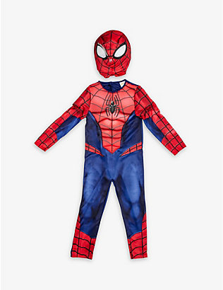 DRESS UP: Deluxe Spiderman costume 7-8 years