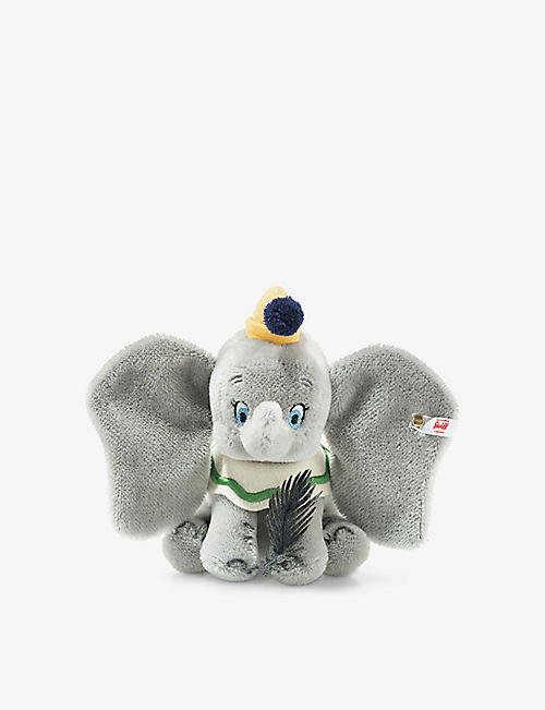 STEIFF: Disney Dumbo soft mohair and cotton-blend figurine 14cm