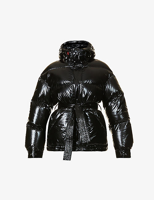 PERFECT MOMENT: Parka II oversized shell-down jacket