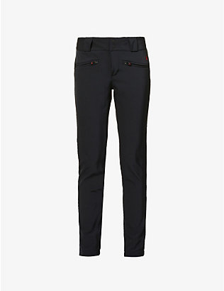 PERFECT MOMENT: Aurora skinny mid-rise woven ski trousers