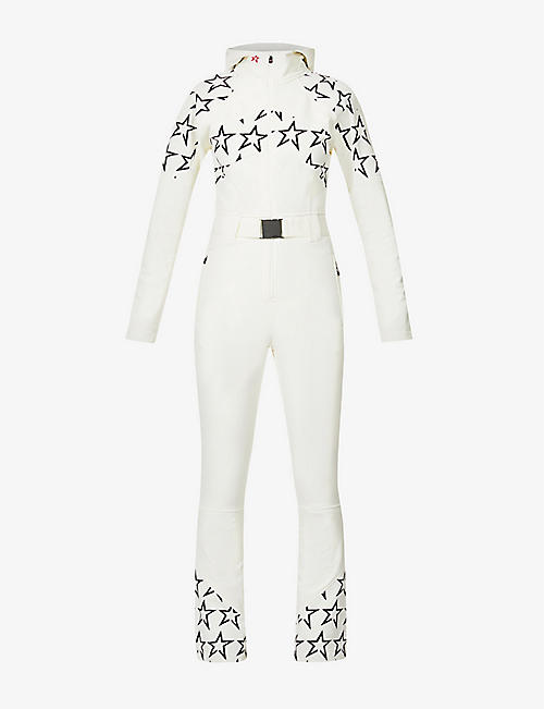 PERFECT MOMENT: Tignes star-print stretch-woven jumpsuit