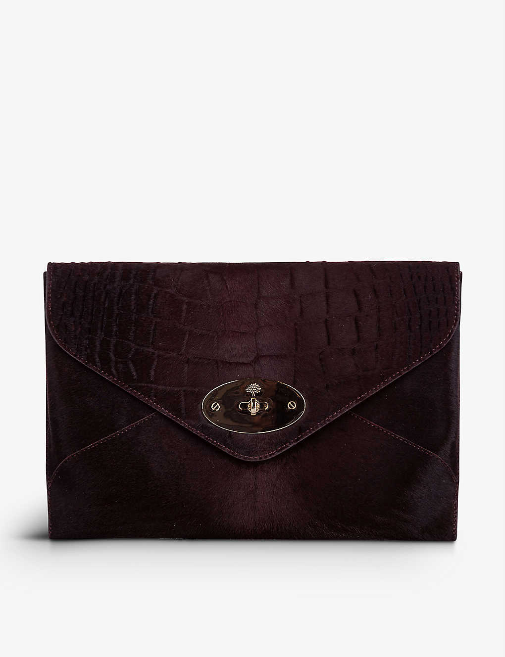RESELLFRIDGES: Pre-loved Mulberry Willow leather clutch