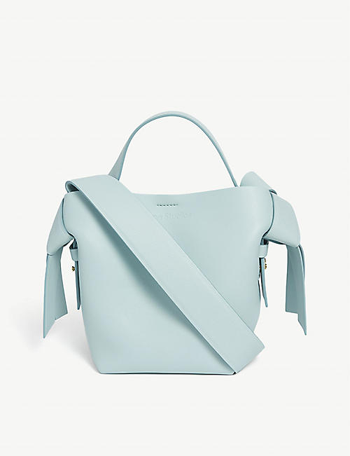 ACNE STUDIOS: Musubi mini leather cross-body bag