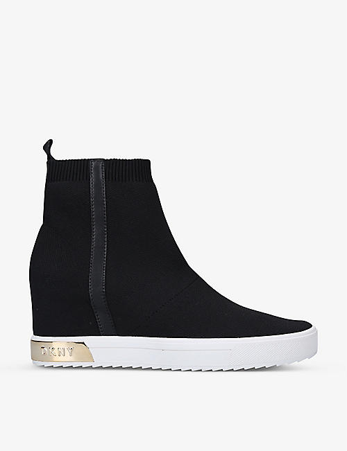 DKNY: Cali woven ankle boots