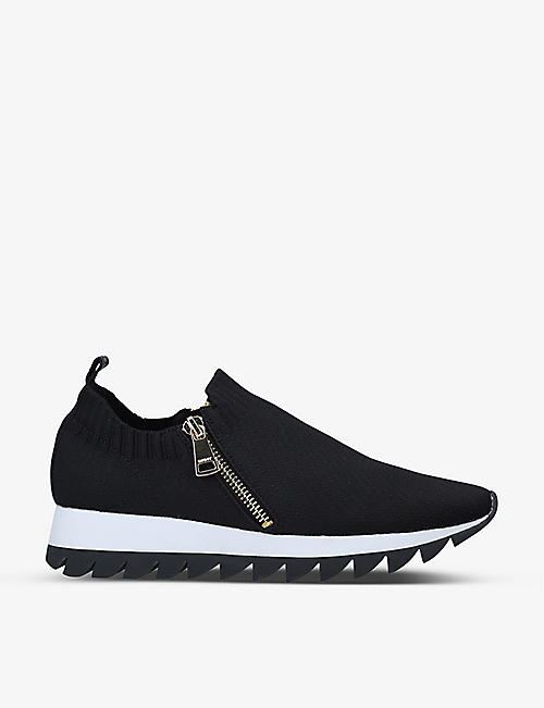DKNY: Azza knitted sock trainers