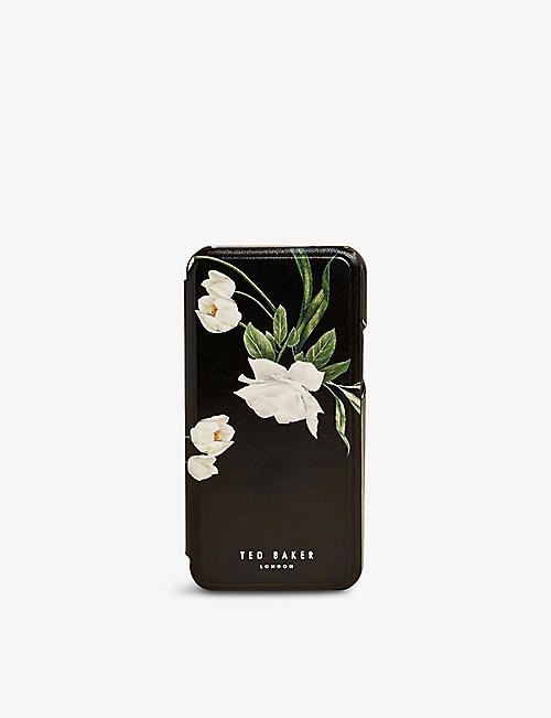 TED BAKER: Elderflower floral-print iPhone 11 case